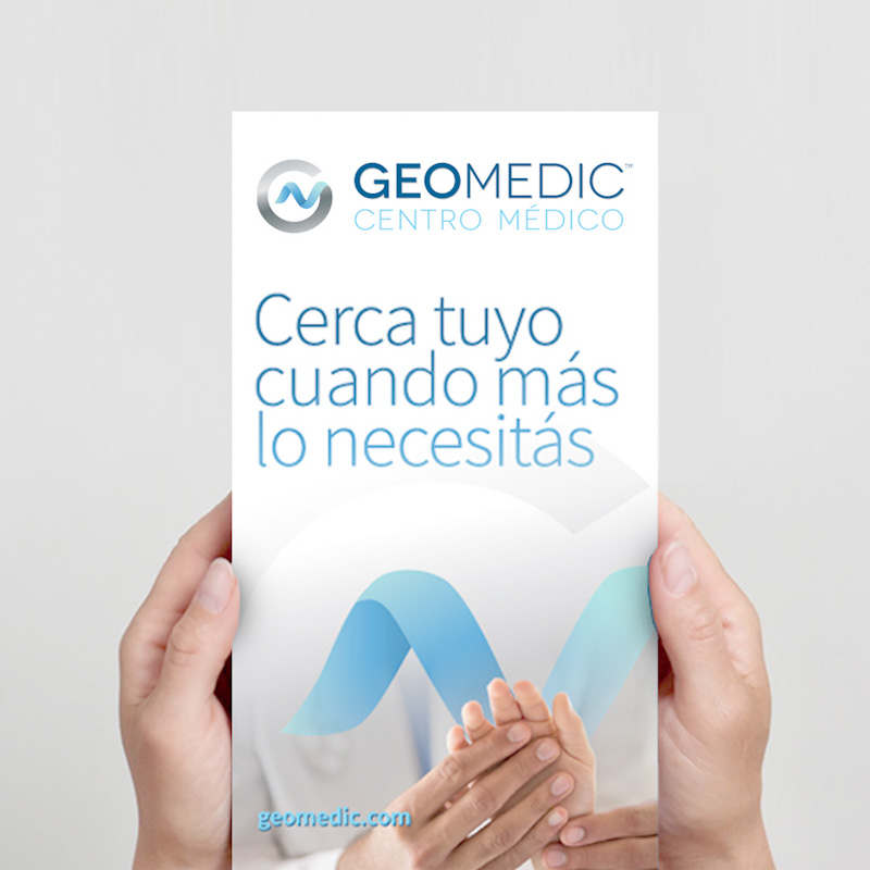 Whynot brand agency Geomedic Centro Medico