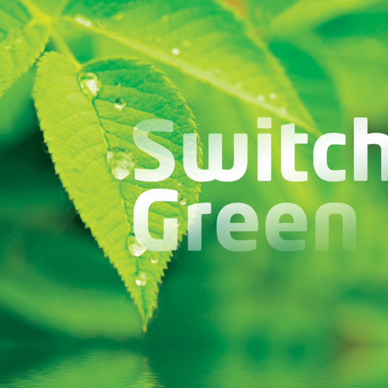 Whynot brand agency Switch Green